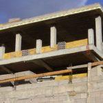 Construction work in Mogan